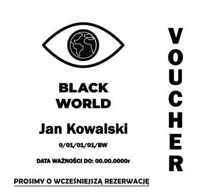 Grafika przedstawiająca przykładowy Voucher Black World